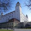Bratislavský hrad – gotické stĺpy